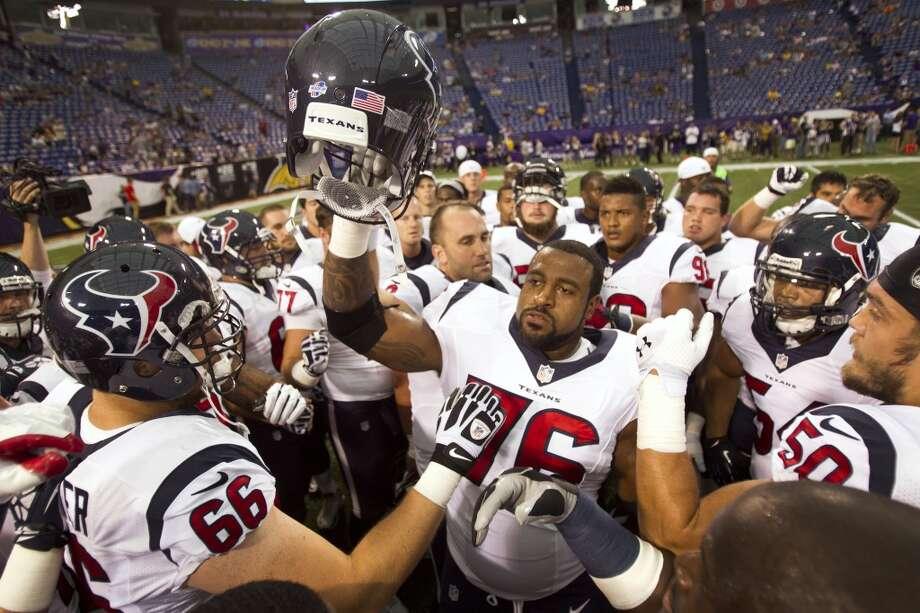 No. 5: Houston Texans Value: $1.45 billion Photo: Brett Coomer, Chronicle
