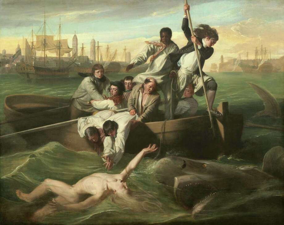 "The commissioner of John Singleton Copley's ""Watson and the Shark"" lost a leg as a boy in Cuba. Photo: National Gallery Of Art"