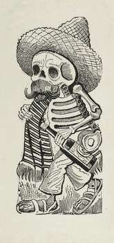 """Jose Guadalupe Posada's """"Calavera of the Bum,"""" will be presented at the Museum of Fine Arts, Houston, as part of """"Calaveras Mexicanas: The Art and Influence of Jose Guadalupe Posada,"""" Sept. 18-Dec. 15. Photo: Museum Of Fine Arts, Houston"""