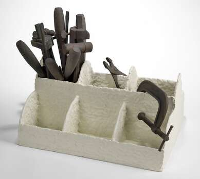 """FAC: Houston Center for Contemporary Craft: Tybre Newcomer's """"Where They Belong"""" (ceramic, 2011) is among works on view in """"The Maker's Archive"""" at HCCC Oct. 4 - Dec. 1. Photo: Tybre Newcomer"""
