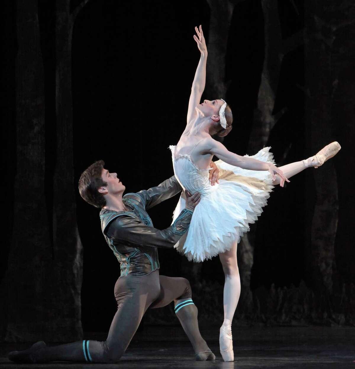 "Houston Ballet presents Stanton Welch's ""Swan Lake"" June 5-15 at Wortham Theater Center."