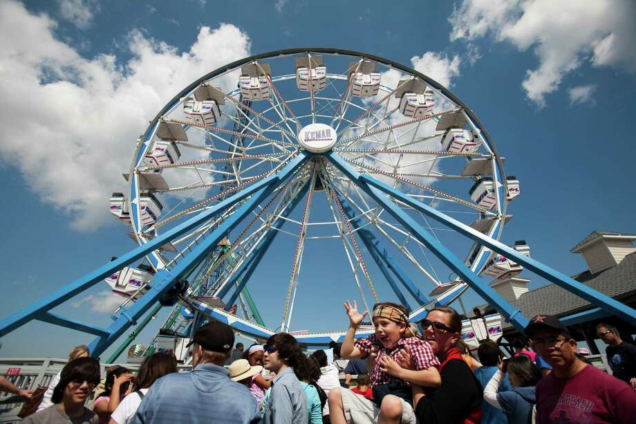 Kemah Boardwalk:One of three of Landry's Restaurants-owned entertainment centers offer amusement-park rides, midway games, a variety of dining options and specialty shops. These family-friendly venues frequently host events ranging from beer and wine festivals to live music. 215 Kipp, kemahboardwalk.com. -Syd Kearney Photo: Eric Kayne, For The Chronicle / Freelance