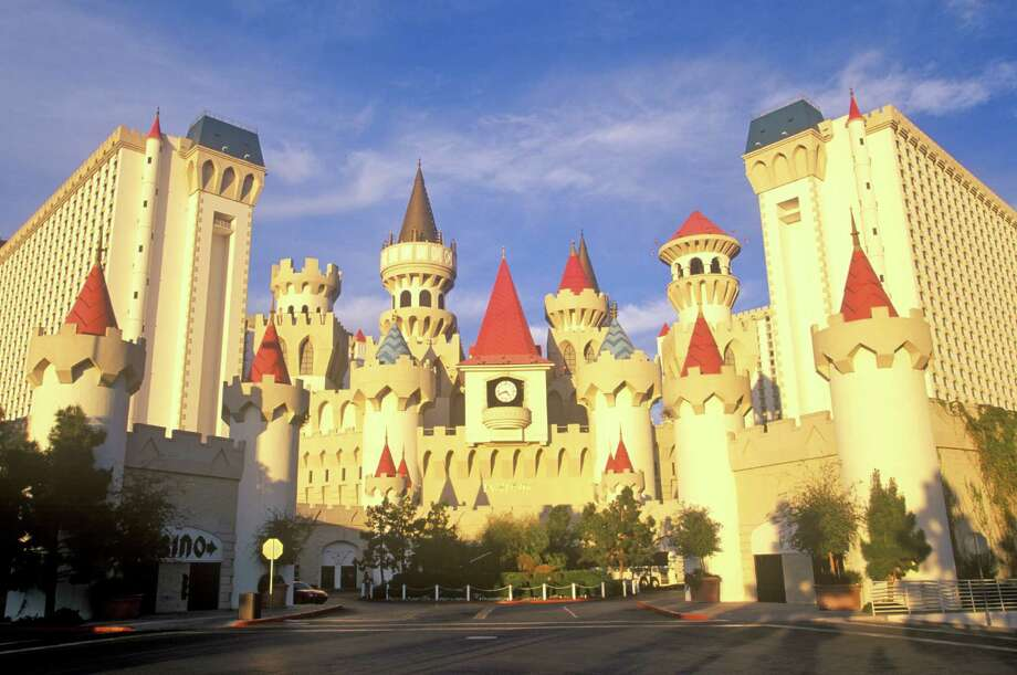 If you can't afford to build your own castle home, you can always stay in the Excalibur Hotel and Casino, in Las Vegas. Photo: Visions Of America, UIG Via Getty Images / © 2005 VisionsofAmerica.com/Joe Sohm.  All Rights Reserved. (800) SOHM-USA (764-6872)