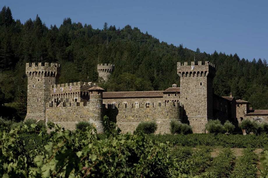 Castello di Amorosa is a replica of a medieval Tuscan castle in the upper Napa Valley of California. Photo: George Rose, Getty Images / 2009 George Rose