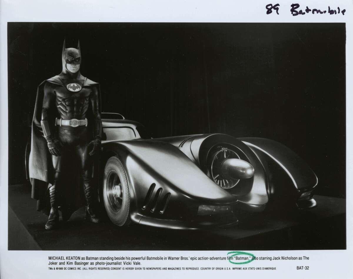 Michael Keaton played Batman in Tim Burton's