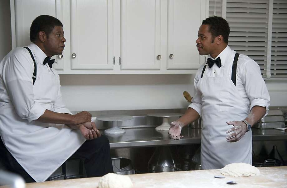"Cuba Gooding Jr. (right), who won the Oscar for 1996's ""Jerry Maguire,"" with Forest Whitaker in ""Lee Daniels' The Butler,"" which was passed over in this year's nominations. Photo: Anne Marie Fox, The Weinstein Company"