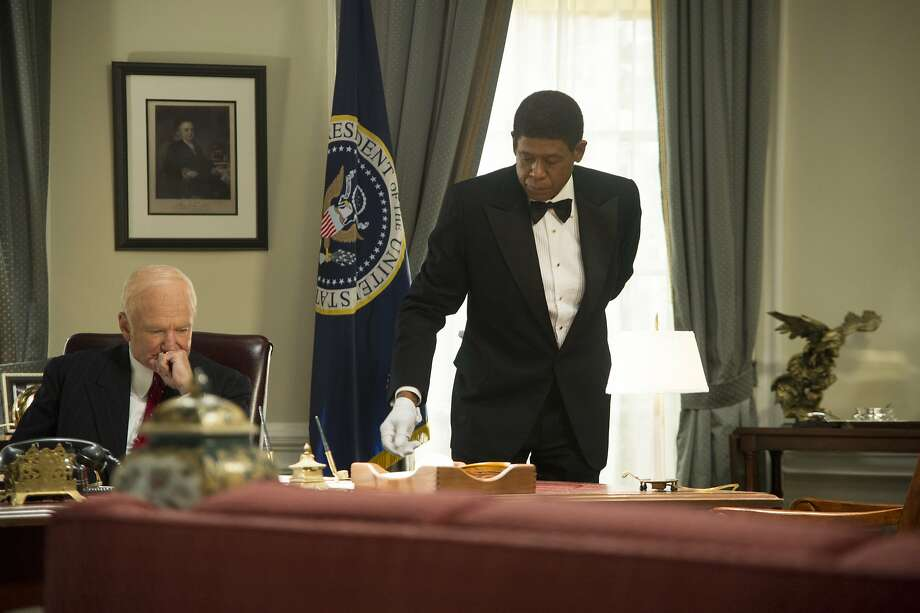 ROBIN WILLIAMS and FOREST WHITAKER star in LEE DANIELS' THE BUTLER Photo: Anne Marie Fox, The Weinstein Company