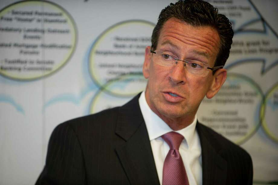 Connecticut Governor Dannel Malloy Photo: Lindsay Perry / Stamford Advocate