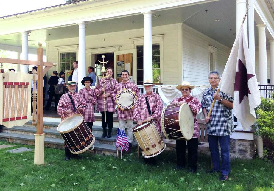 The Celestial Ancients Fife & Drum Corps will perform a muster with other fife and drums groups Sunday, Aug. 25, at the Aldrich Contemporary Art Museum in Ridgefield. Photo: Contributed Photo