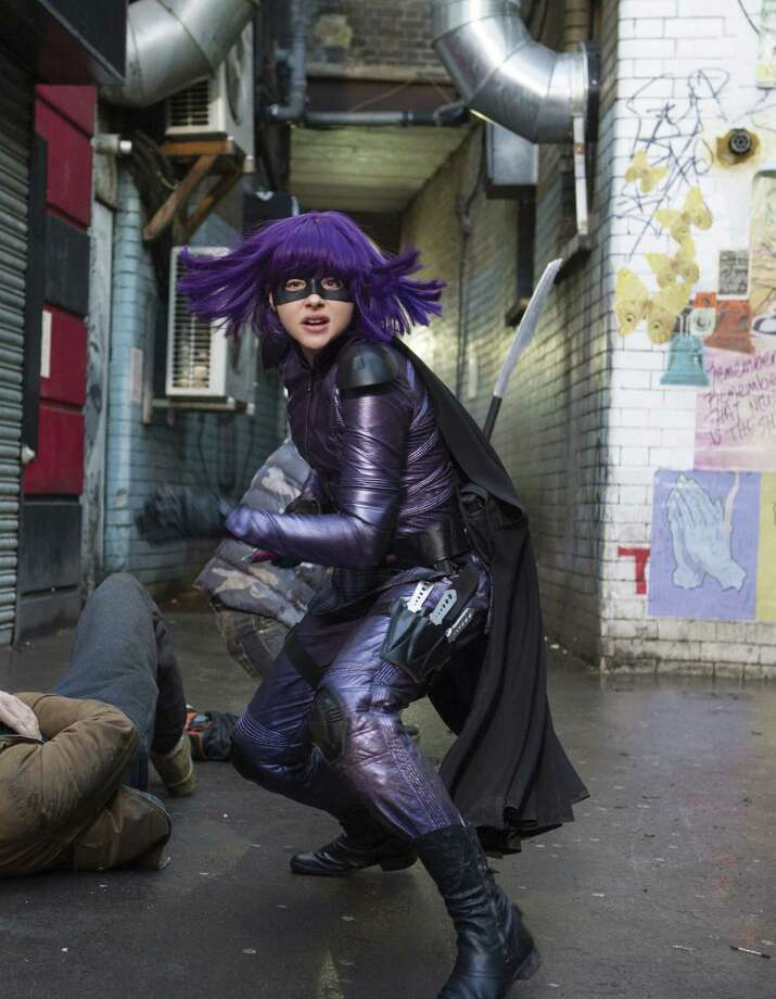 "Chloe Grace Moretz, as Hit Girl (aka Mindy), brings out her character's inner conflict in ""Kick-Ass 2."""