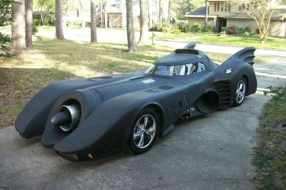 Batman car driving around Houston now for sale - Beaumont Enterprise