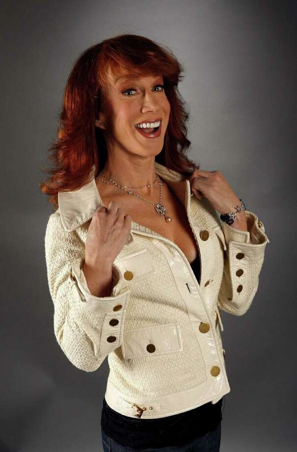 Comedian Kathy Griffin poses in the portrait studio during AFI FEST 2007 presented by Audi held at ArcLight Cinemas on November 9, 2007 in Hollywood, California.