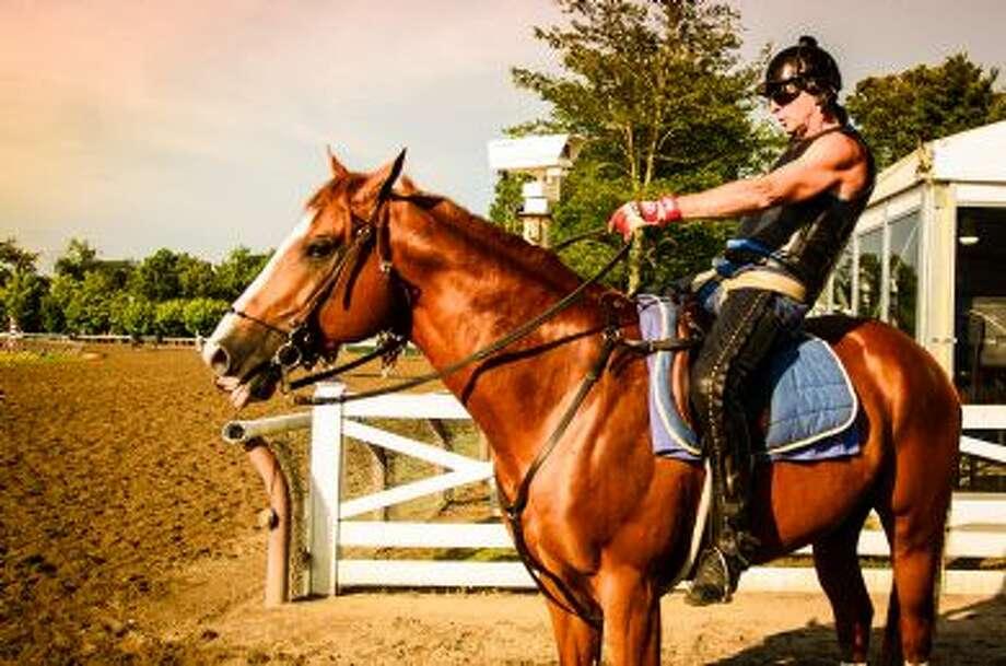 Gallant horse and his jockey. (Philip Yin)