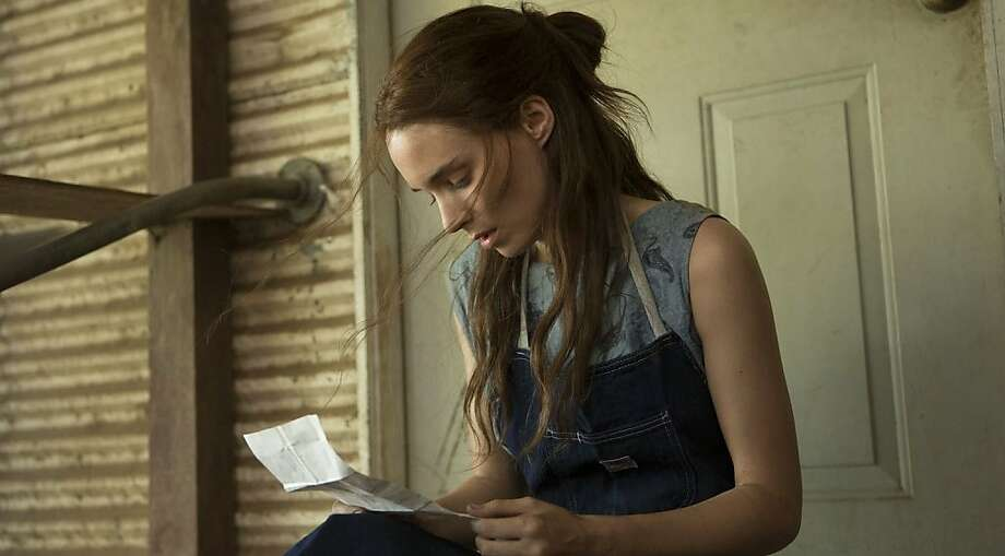 """The looks and angular face of Rooney Mara contributed to the moody atmosphere of """"Ain't Them Bodies Saints,"""" cinematographer Bradford Young says. Photo: IFC Films"""