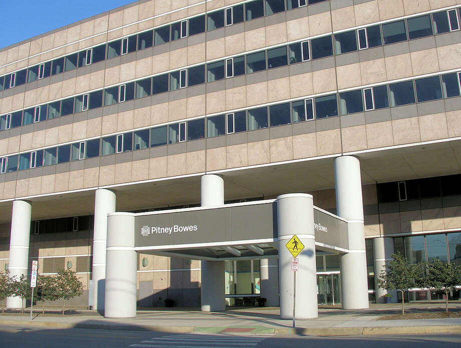 Pitney Bowes is selling its international headquarters at 1 Elmcroft Road in Stamford. Photo: Coolcaesar At The English Language Wikipedia