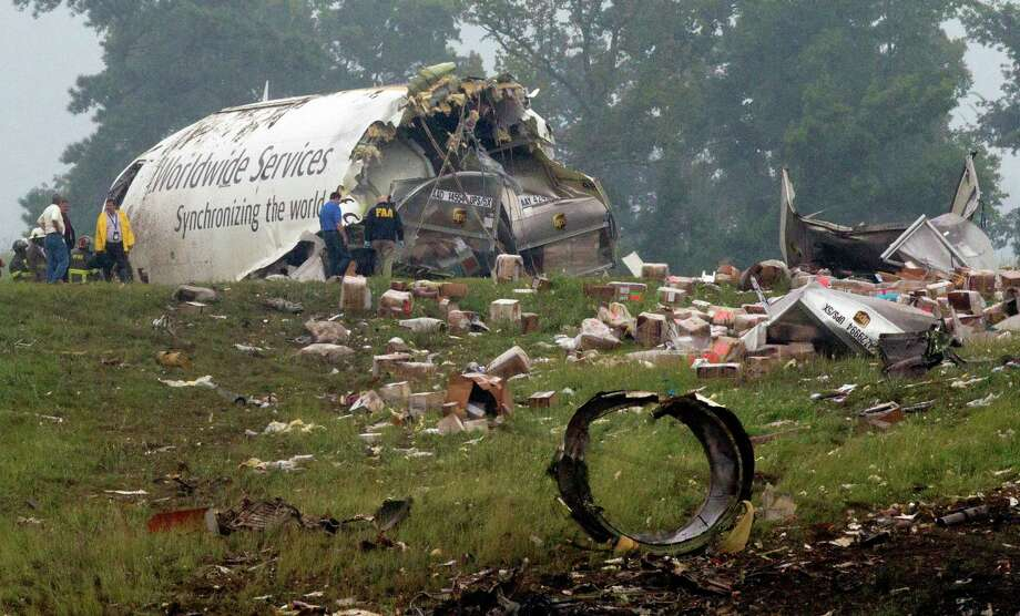Ups Cargo Jet Crashes Killing Two Times Union