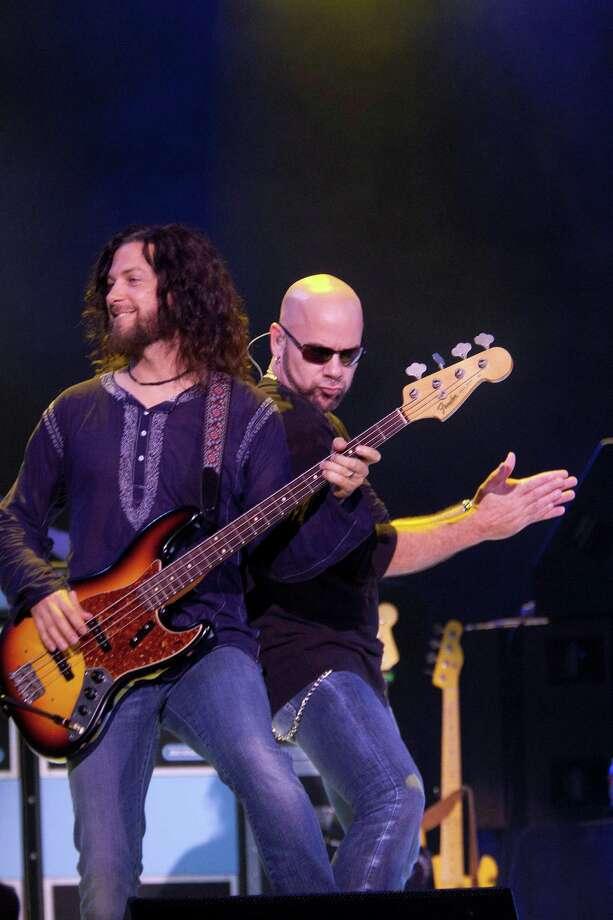 The Jason Bonham Led Zeppelin Experience at the Cynthia Woods Mitchell Pavilion while opening for Heart Wednesday, Aug. 14, 2013, in The Woodlands. Photo: Johnny Hanson, Houston Chronicle / © 2013  Houston Chronicle