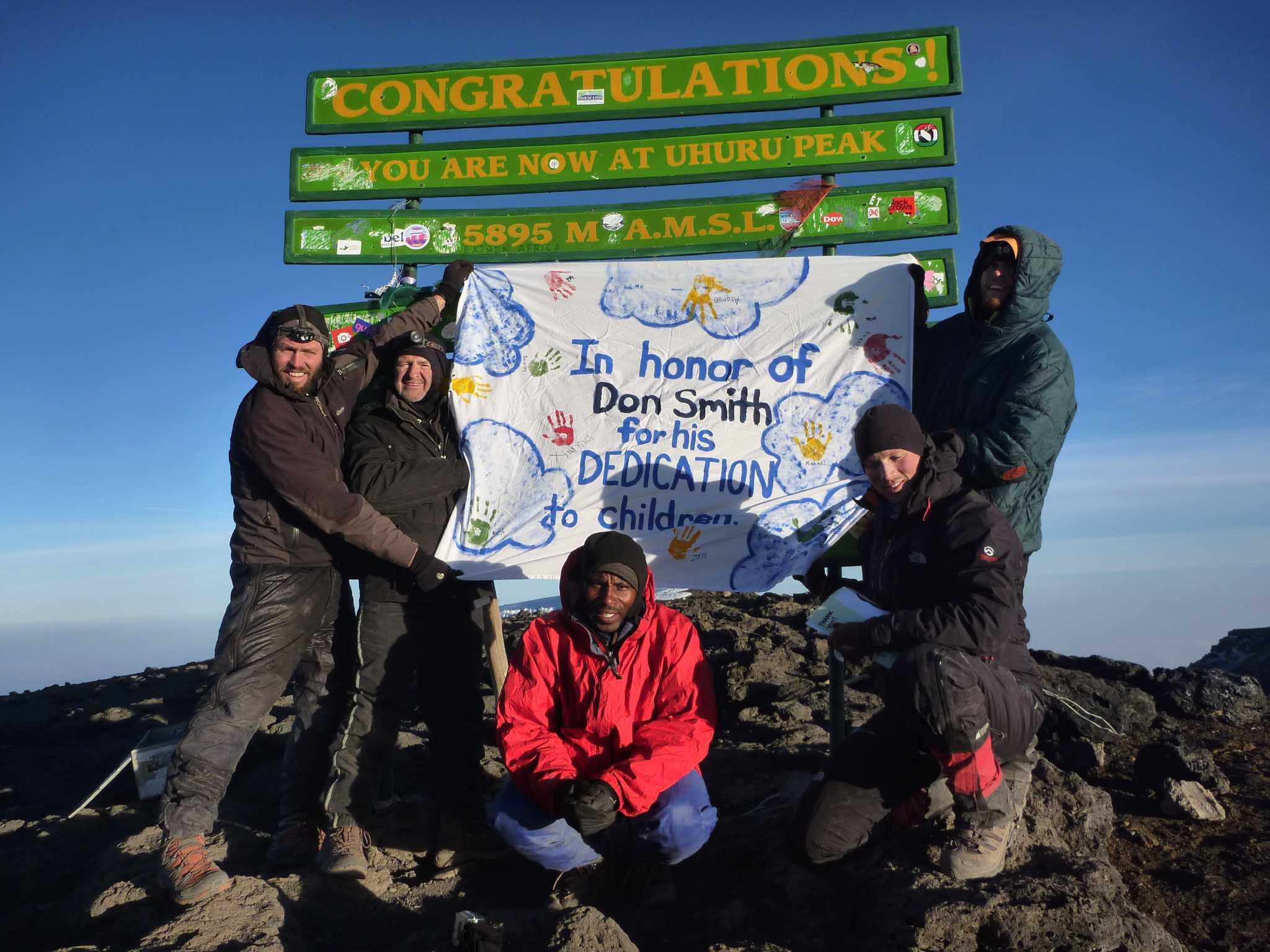 Pre Owned Cars >> Mount Kilimanjaro trek celebrates friend's career of service to kids