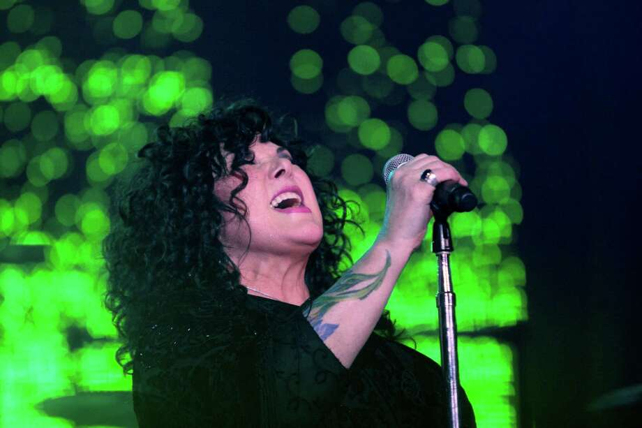 Lead singer Ann Wilson from the band Heart performs at the Cynthia Woods Mitchell Pavilion Wednesday, Aug. 14, 2013, in The Woodlands. Photo: Johnny Hanson, Houston Chronicle / © 2013  Houston Chronicle