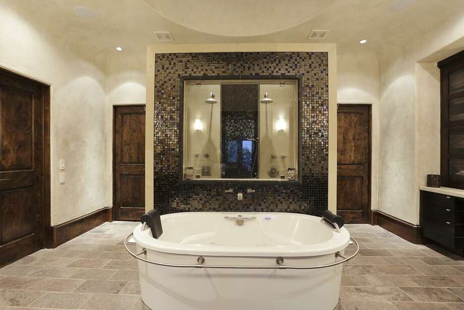 Master Bath - Bain Ultra tub, double shower.