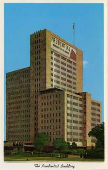 HOUSTON - 1959:  Vintage postcard showing The Prudential Insurance Company of America Building in Houston  . (Photo by Lake County Museum/Getty Images) Photo: Getty Images