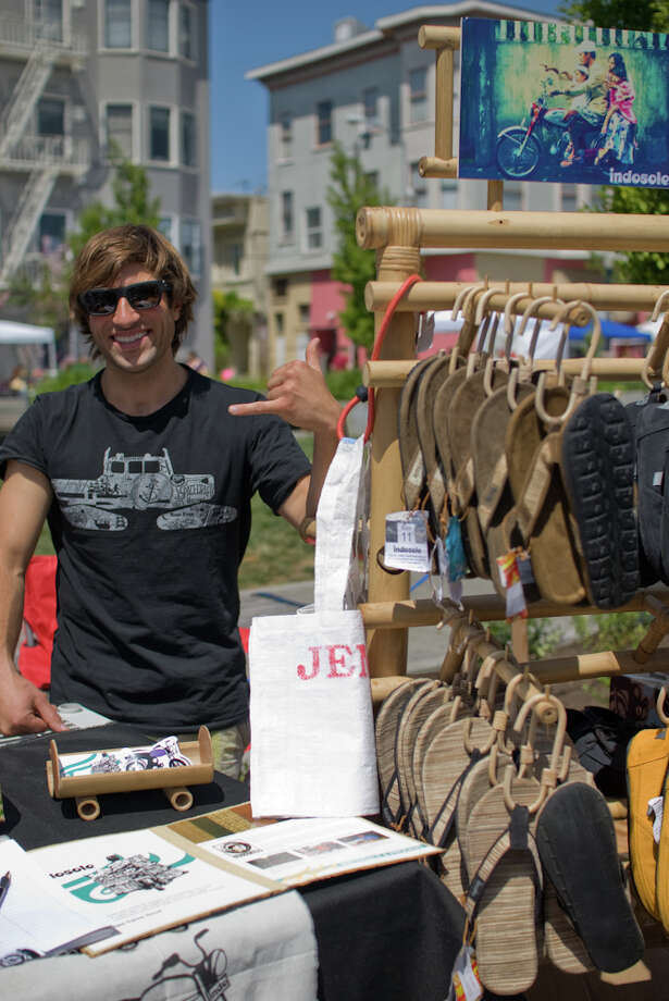 About 150 local eco-friendly vendors will be at the Urban Air Market Aug. 18. Photo: Urban Air Market