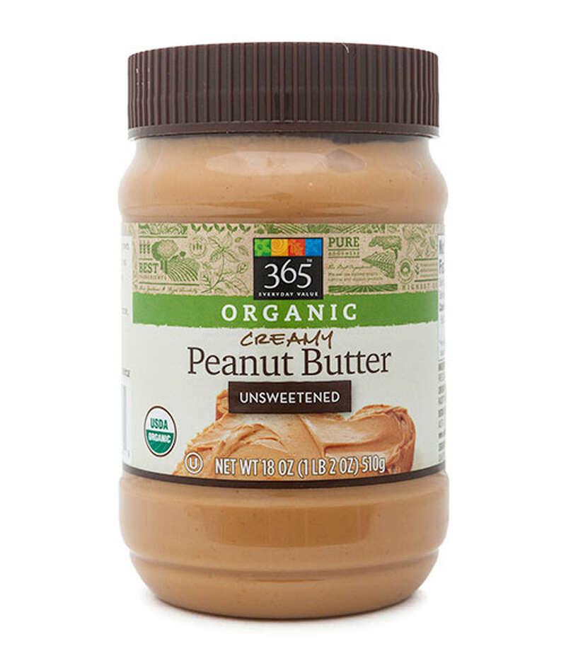 "Natural Runner-Up: 365 Organic Unsweetened Creamy Peanut Butter365 Organic Unsweetened Creamy Peanut Butter ($4.39 for 18 oz.) earned compliments for its classic, silky-smooth consistency. Tasters said, ""It reminds me of old-school peanut butter,"" and that its just-like-peanuts flavor made it difficult to tell that it is unsweetened. Only a few felt it seemed almost too smooth. Photo: Courtesy Of The Company"