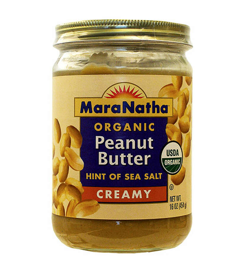 "MaraNatha Natural Creamy & Roasted Peanut Butter with a Hint of Sea SaltOur testers were not big fans of the very sticky and runny texture or the color of MaraNatha Natural Creamy & Roasted Peanut Butter with a Hint of Sea Salt ($7.49 for 16 oz.). The flavor received reviews ranging from ""bitter"" to ""bland"" to ""the sweetest tasting out of them all."" One volunteer thought it had a ""good peanut flavor for toast, but not bold enough for a PB&J."" Photo: Courtesy Of The Company"