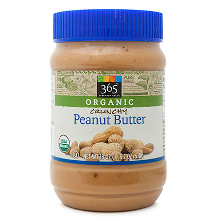 "365 Organic Crunchy Peanut Butter365 Organic Crunchy Peanut Butter ($4.39 for 18 oz.) pleased many tasters with its natural, nutty, roasted flavor. While some considered the texture to be a bit grainy and sticky, one commented that it is a ""good texture for spreading."" A handful felt it was too salty, and a few complained that it has fewer peanuts than the other options, lacking crunch for a crunchy peanut butter. Photo: Courtesy Of The Company"