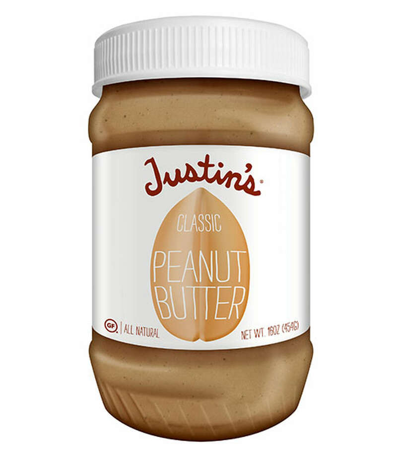 "Justin's Classic Peanut ButterJustin's Classic Peanut Butter ($6.99 for 16 oz.) grabbed our tasters' attention by tasting ""just out-of-the-shell"" fresh. Several criticized the texture for being a little grainy, gritty, and oily. Volunteers also considered the flavor a bit bland, needing a bit more salt. A few also complained about its ""weird"" aftertaste. Photo: Courtesy Of The Company"