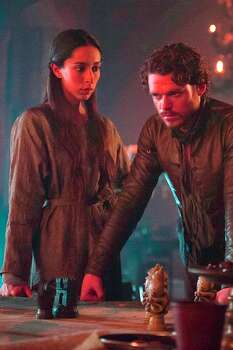 The soon-to-be dead Talisa Stark (played by Oona Chaplin) and her soon-to-be dead husband Robb Stark (played by Richard Madden) in 'Game of Thrones.' Photo: HBO