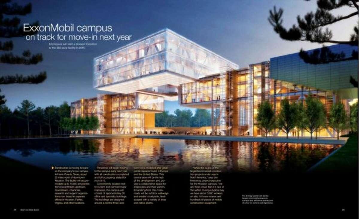 The Energy Center will be the largest common space on the campus.