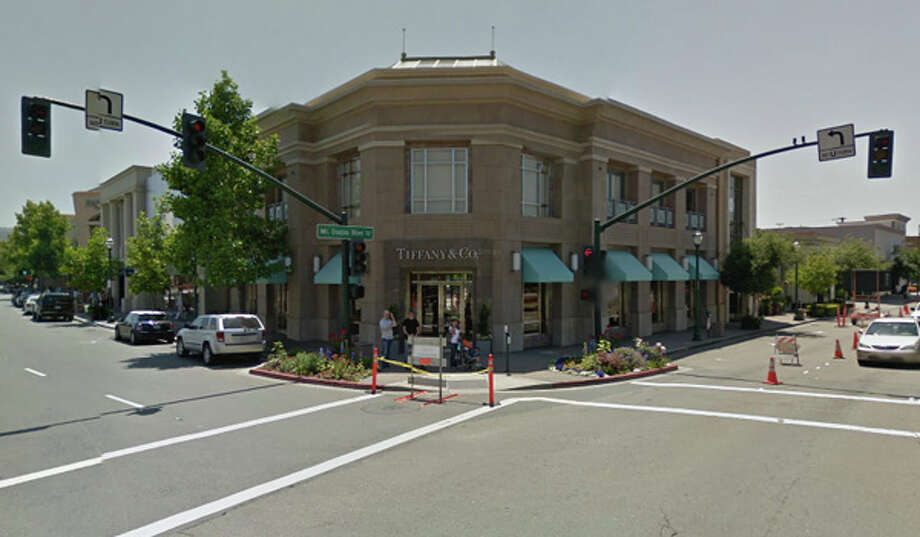 The Tiffany and Co. store in Walnut Creek. Photo: Google Maps