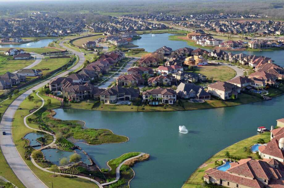 Riverstone in Fort Bend County has sold 3,000 homes so far, which is halfway through its entire development space. Home prices range from the $280,000s into the millions.