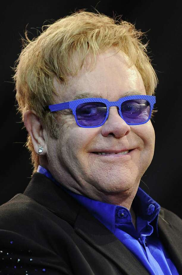 English singer-songwriter Sir Elton John Photo: JEAN-SEBASTIEN EVRARD, AFP/Getty Images / 2013 AFP
