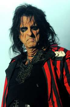 Feb. 14, 2015Alice Cooper: The guy-linered rocker will perform at Bayou Music Center. Photo: Harry Scott, Redferns Via Getty Images / 2013 Harry Scott
