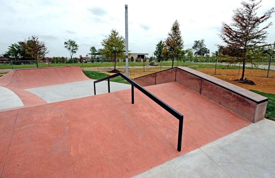 The Beautiful Mountain Skate Plaza will hold its grand opening the Saturday of August 17, 2013.  As of now the project is nearly finished, and waiting on the release of the area from the contractors. Photo taken July 24, 2013. Photo taken: Randy Edwards/The Enterprise
