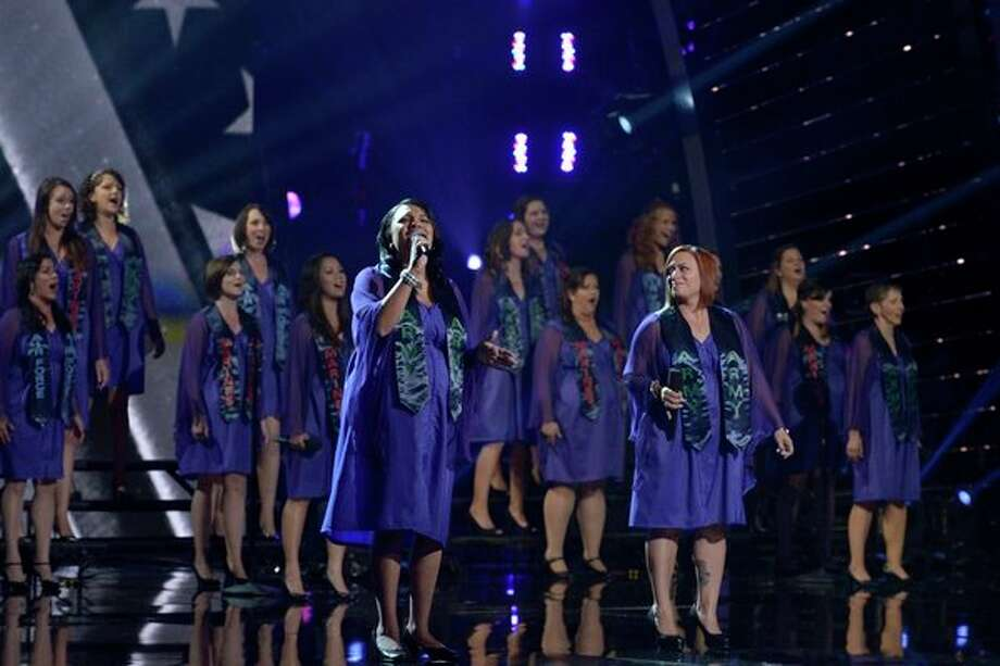 AMERICA'S GOT TALENT -- Episode 814 -- Pictured: American Military Spouses Choir -- (Photo by: Virginia Sherwood/NBC) Photo: NBC, Virginia Sherwood/NBC / 2013 NBCUniversal Media, LLC
