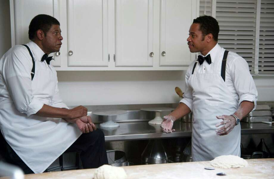 "This film image released by The Weinstein Company shows Forest Whitaker as Cecil Gaines, left, and Cuba Gooding Jr. as Carter Wilson in a scene from ""Lee Daniels' The Butler."" (AP Photo/The Weinstein Company, Anne Marie Fox) ORG XMIT: NYET140 Photo: Anne Marie Fox / The Weinstein Company"