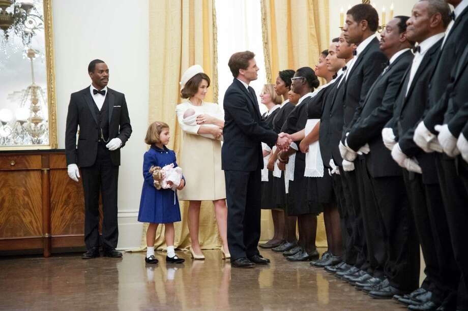 "This film image released by The Weinstein Company shows, from second left, Chloe Barach as Caroline Kennedy, Minka Kelly as Jackie Kennedy, James Marsden as President Kennedy and Forest Whitaker as Cecil Gaines, third from right, in a scene from ""Lee Daniels' The Butler."" (AP Photo/The Weinstein Company, Anne Marie Fox) ORG XMIT: NYET141 Photo: Anne Marie Fox / The Weinstein Company"