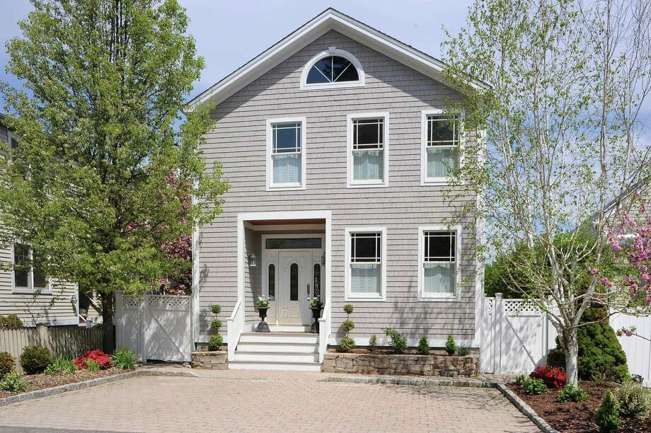 The house at 203 Hillspoint Road is for sale at $1.495 million. Photo: Contributed Photo / Westport News
