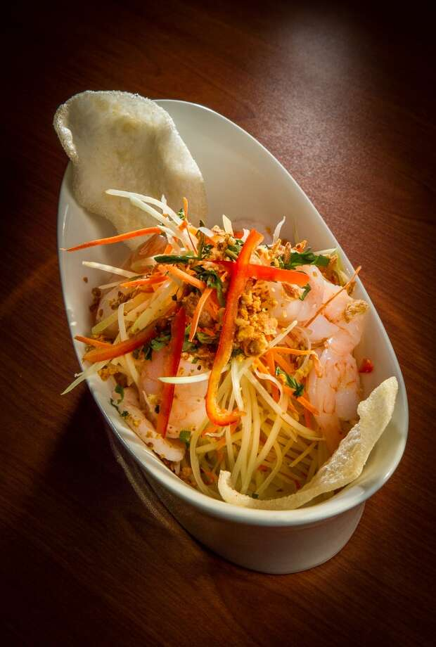 TheSpicy Vietnamese Green Papaya Salad at Vanessa's Bistro 2 in Walnut Creek. Photo: John Storey, Special To The Chronicle