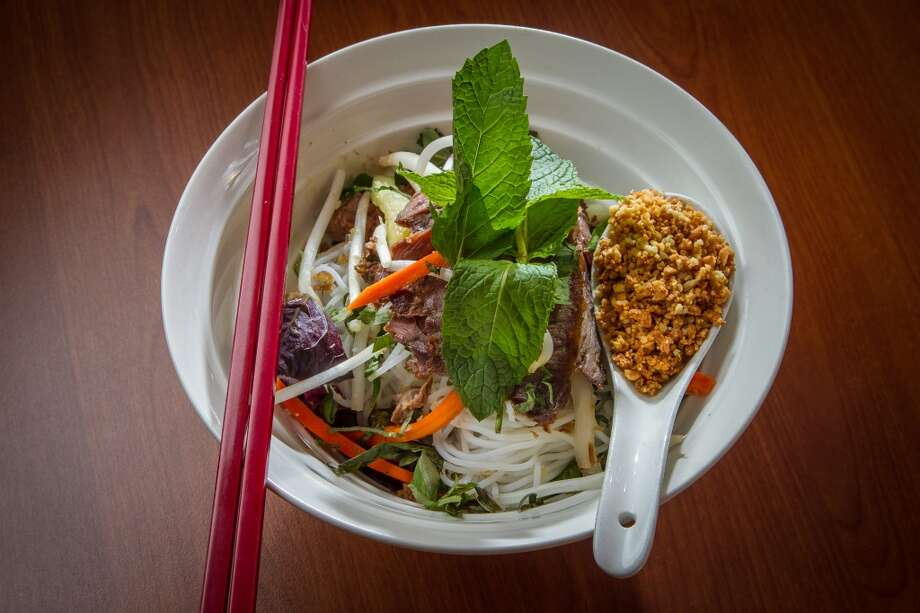 The Vermicelli Noodle Salad at Vanessa's Bistro 2 in Walnut Creek. Photo: John Storey, Special To The Chronicle