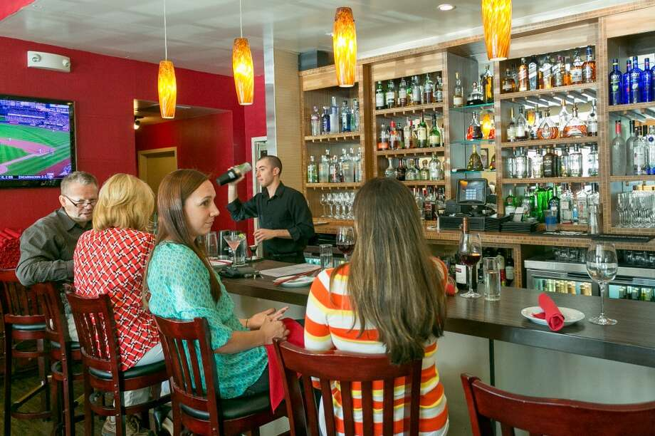 The bar at Vanessa's Bistro 2 in Walnut Creek. Photo: John Storey, Special To The Chronicle