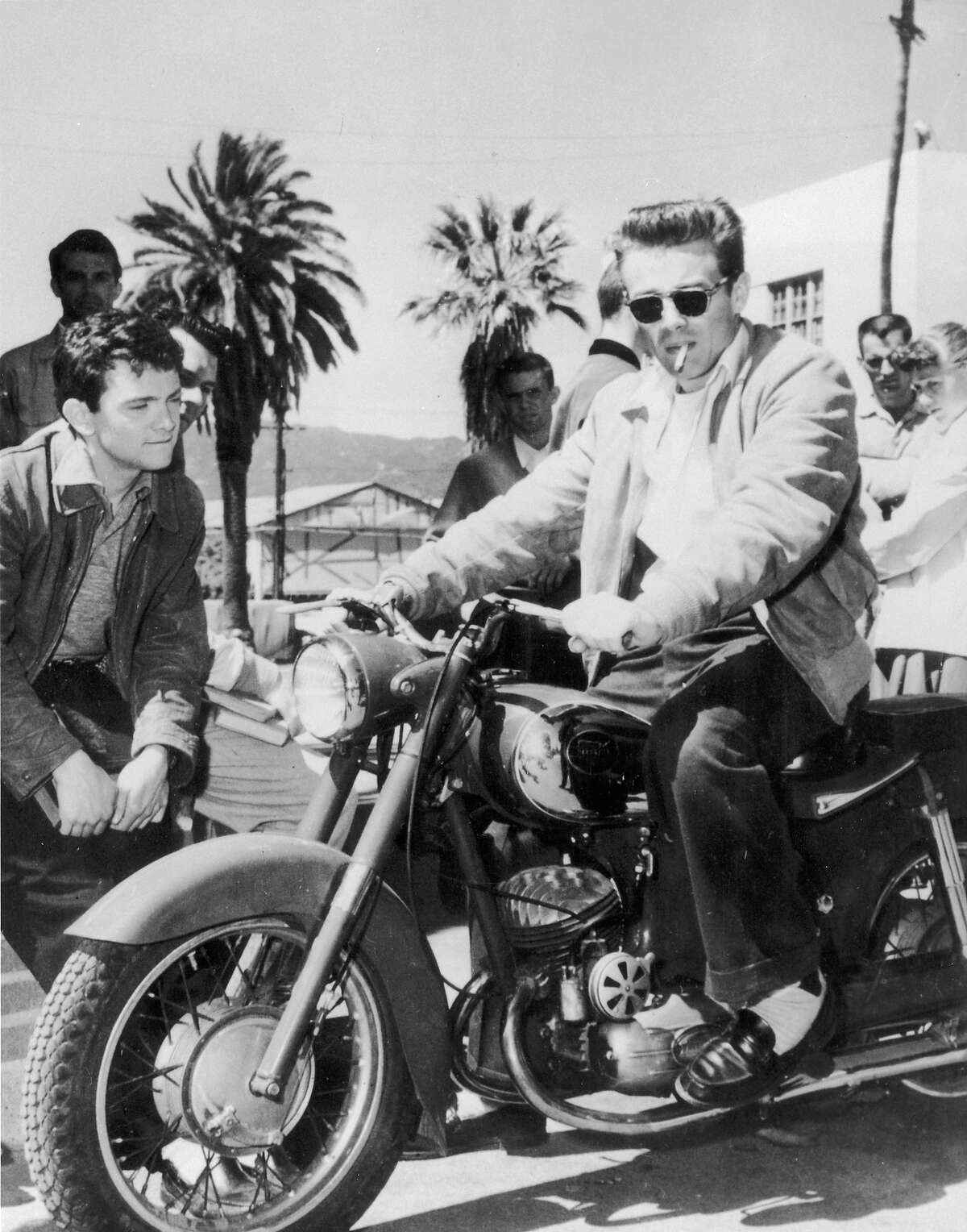 James Dean loved all things fast.
