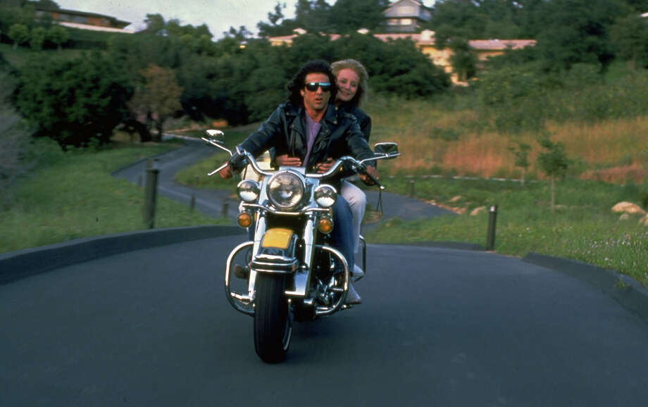 Sylvester Stallonegives Barbara Walters a ride. Photo: John Bryson, Time & Life Pictures/Getty Image / John Bryson
