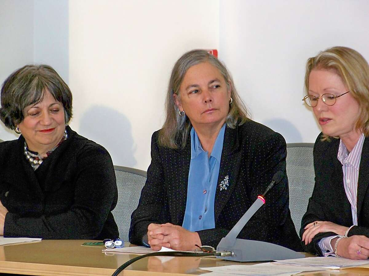 Southern California Democrat State Senator Fran Pavley testifies at the U.S. Environmental Protection Agency in Washington, D.C. on March 5, 2009.