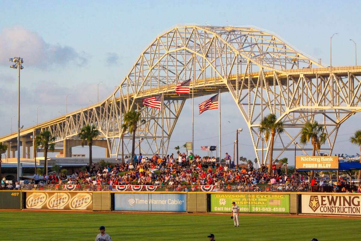 Corpus Christi Hook Catch a game at Whataburger Field. 734 E Port Ave.  More information about the ballpark.