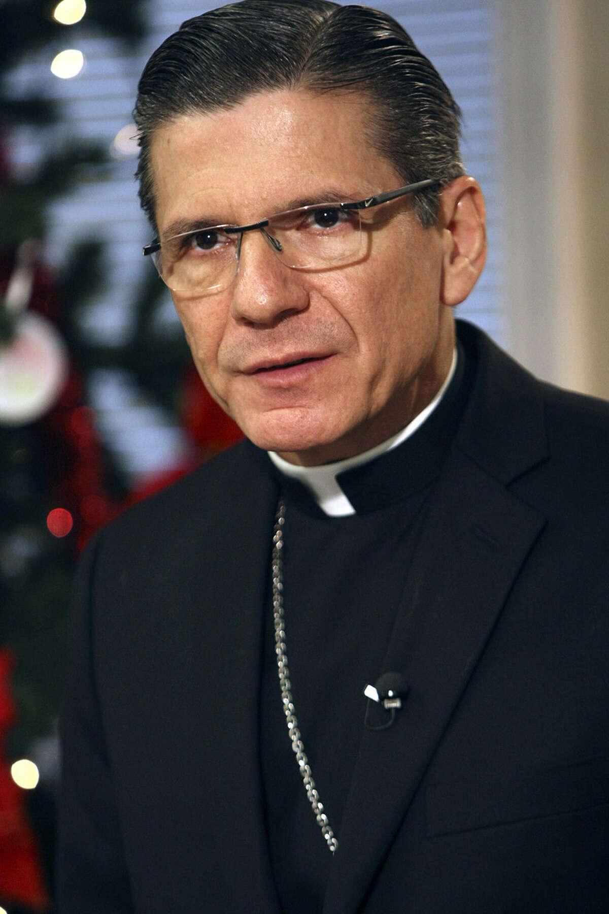 Gustavo García-Siller is San Antonio's Catholic archbishop.