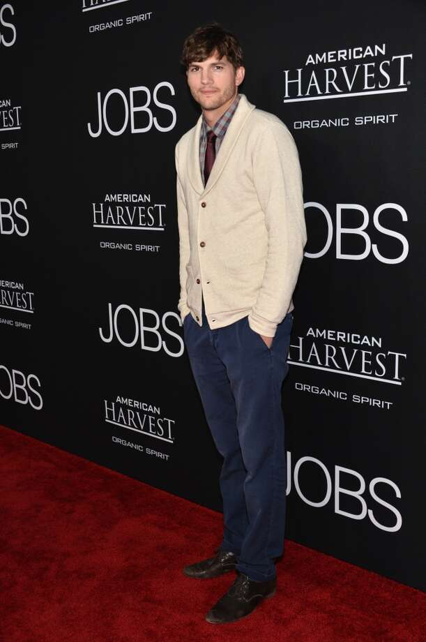 "Ashton Kutcher attends the screening of Open Road Films and Five Star Feature Films' ""Jobs."" Photo: Alberto E. Rodriguez, Getty Images"